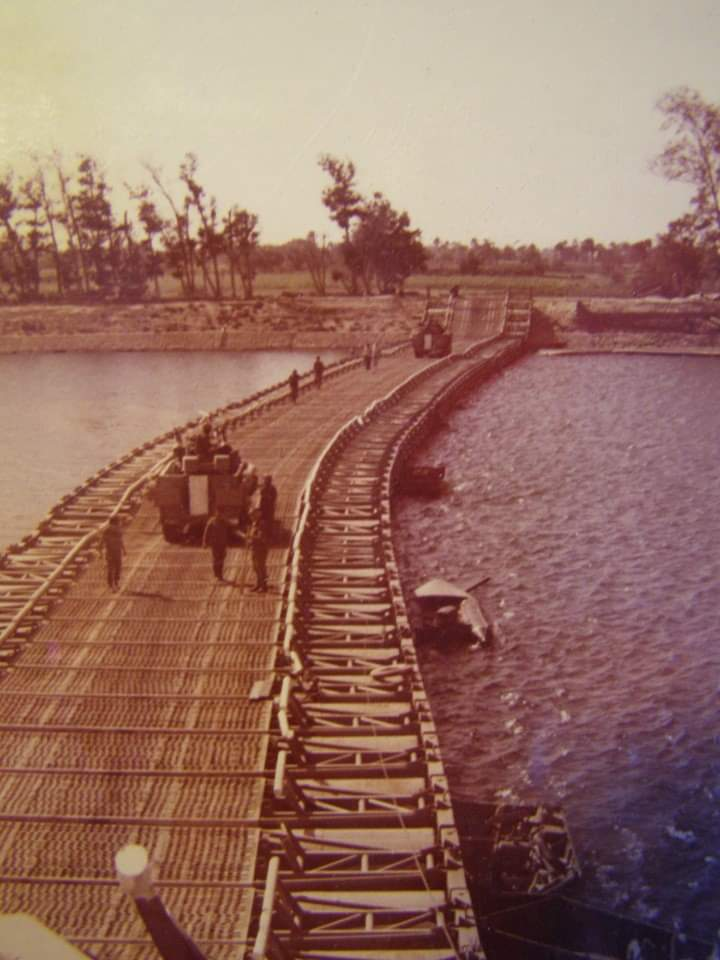 Mobile Bridge over Suez Canal Yok Kippur War