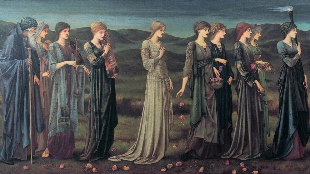 Psyches wedding Edward Burne Jones