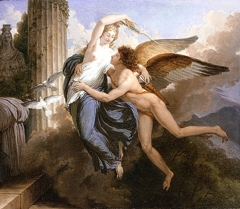 Saint Ours Jean Pierre The Reunion of Cupid and Psyche